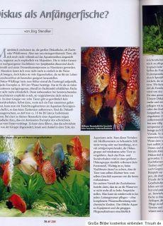 Aquaristik Fachmagazin   Nr. 226 Aug. / Sept. 2012