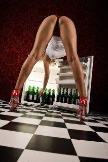 Bier / Beer Poster erotisches Remake Warum das Bier im Kühlschrank