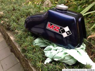 Tank MZ ETZ 250 TOP mit Tankdeckel und Schlüssel Benzinhahn