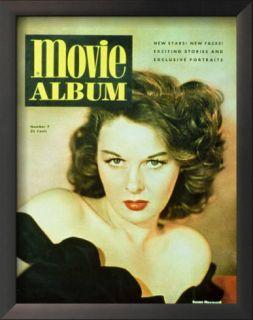 Susan Hayward   Movie Album Magazine Cover 1940s Prints
