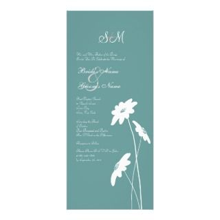 Yellow and Gray Wildflowers Wedding Invitation