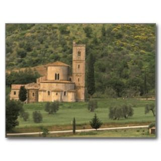 Europe, Italy, Tuscany. Abbazia di SantAntimo, Post Cards