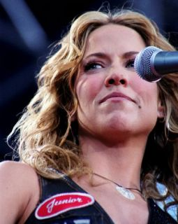 Sheryl Crow, Gordy Collins, 2002, Sakagawea Park, Livingston, Montana Photo