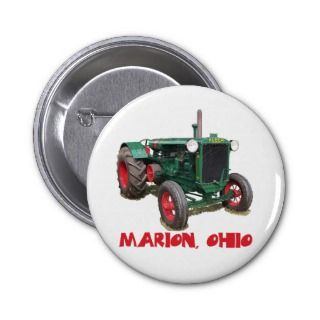 Huber Tractor   Marion, Ohio Buttons