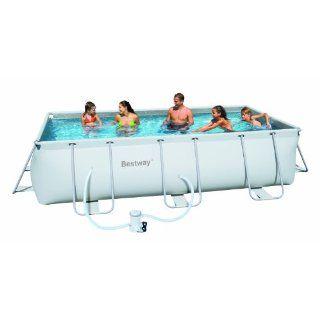 Intex Frame Pool Family III, 450 x 220 x 84 cm, ohne Filterpumpe