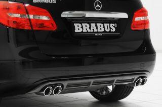 Brabus Sportauspuff mit Heckschürze für Mercedes Benz B Klasse W246