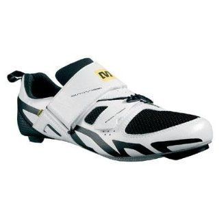 Mavic Rennradschuhe Tri Race white/yellow/black Schuhe