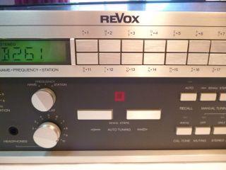 ReVox by CLASSIC STEREO Revox B261 Synthesizer FM Tuner