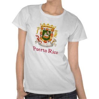 Shield of Puerto Rico Tshirts