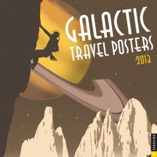 Galactic Travel Posters   2013 Calendar Calendars