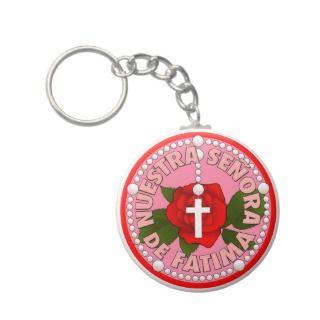 Nuestra Señora de Fatima Key Chains