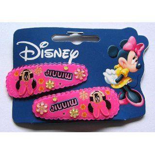 Disney Haar Schmuck Minnie Mouse 2 Haarspangen Mickey Mouse