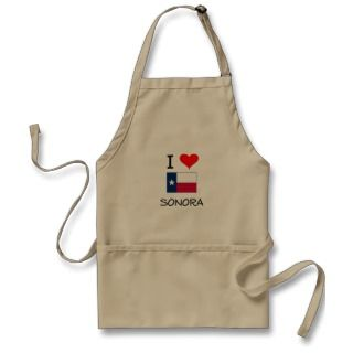 Love Sonora Texas Apron