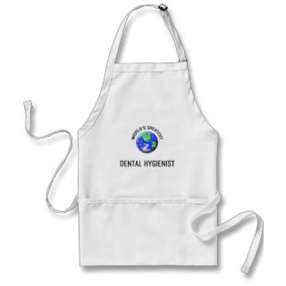 Worlds Greatest Dental Hygienist Apron