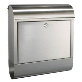 Designer Briefkasten aus Edelstahl rostfrei (180): Baumarkt