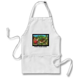 Food Chain Gang Funny Gifts Tees & Collectibles Aprons