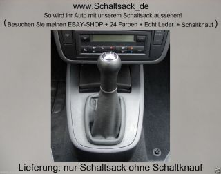 Schaltsack VW Sharan Seat Alhambra Ford Galaxy Leder