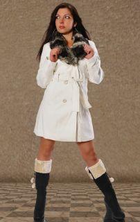 274# Wollmantel Fleece Woll Mantel Winter Jacke Jacket Trenchcoat
