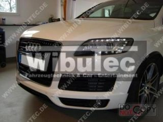 Audi Q7 Facelift Tri   Xenon Scheinwerfer mit LED TFL