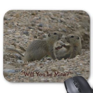 Funny Gophers, Prairie Dogs Wildlife Mousepad