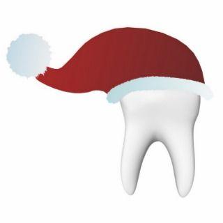 Dental art Christmas souvenier Photo Cutouts