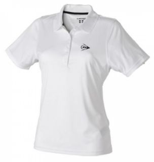 Dunlop Club women Button Polo white 2012 Damen Tennis Polo