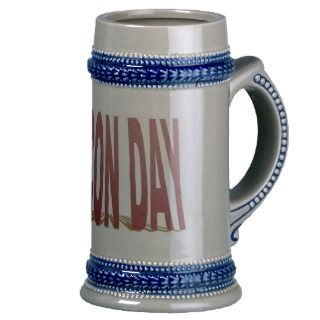 Bacon Day Stein Mugs