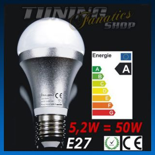 4x 6W High Power E27 LED SMD LAMPE LEUCHTMITTEL ENERGIESPARLAMPE BIRNE