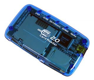 externer Mini USB 2.0 Multi Cardreader #h276