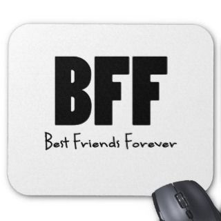 BFF Best Friends Forever Mouse Pads