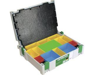 Hitachi Kleinteile  Systainer Gr. 1 leer, mit Sortierkästen, System
