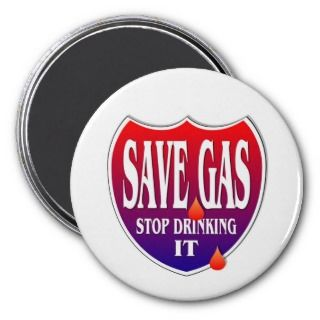 Save Gas Magnets