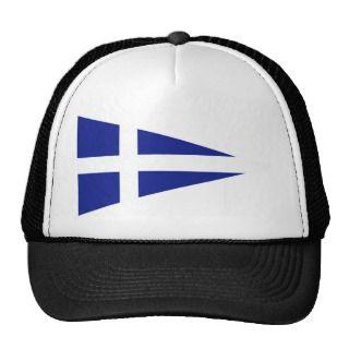 Greek Royal Navy Senior OfficerS, Greece Trucker Hat