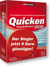 Quicken Home & Business 2010 (Version 17.00) Software