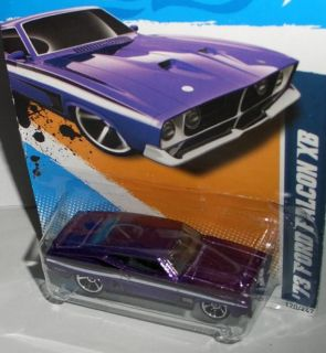 2012 Muscle Mania   Ford ´73 FORD FALCON XB  purple  164 Hot Wheels