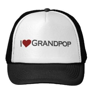love grandpop hats
