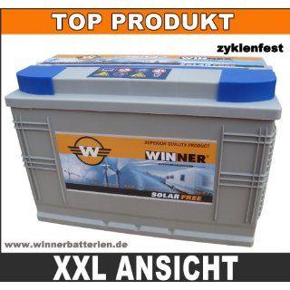 120Ah   12V Versorgungsbatterie AGM GEL Wohnmobil Batterie