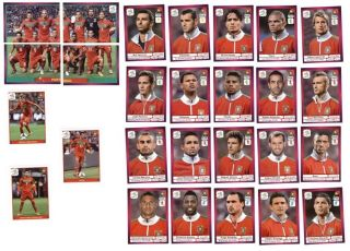Panini EM / Euro 2012   Portugal komplett, Sticker 254 280