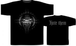 Official Merchandise Band T Shirt   Darkthrone   Hate Them
