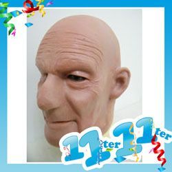Opa Oldman Maske Schaumlatex Fasching Karneval Gesicht Halloween On