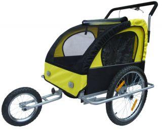 Fahrradanhänger Jogger 2in1 Kinderanhänger Anhänger G/S