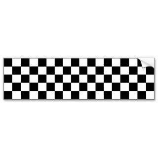 Tone Ska Checks Bumper Sticker