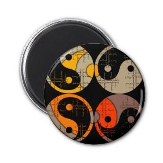 Elements of Life Yin Yang Magnet