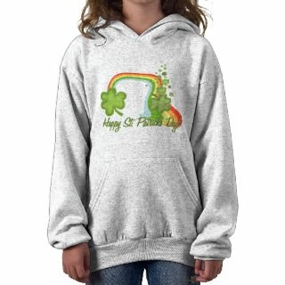 Happy St Patricks Day Hooded Sweatshirts