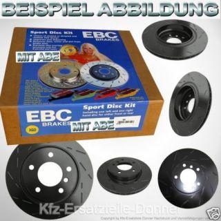 EBC Black Dash Discs vorne Subaru Outback 294x22