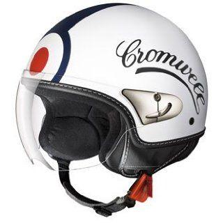 IDI Martini, moderner Jet Helm, weiss/rot/blau, Gr.XL