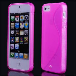 10Color S Line TPU Silicone Soft Case Cover Skin for Apple iPhone 5 5G