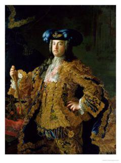 Francis I (1708 65) Holy Roman Emperor and Husband of Empress Maria Theresa of Austria (1717 80) Giclee Print by Martin van Meytens
