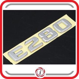 Chrom Emblem Schriftzug Mercedes Benz E280 E Class W210 W211 W212 t65