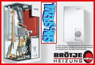 BRÖTJE Gas Brennwert Heizkessel Kessel WGB 20C Pro Evo
